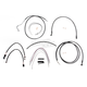 Black Pearl Designer Series Handlebar Installation Kit for Use w/12 in. - 14 in. Ape Hangers (w/ABS) - 487351
