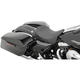 Black Flame Stitch Solo Seat w/EZ Glide Backrest Option - 0801-0887