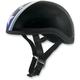 Black Star FX-200 Slick Beanie-Style Half Helmet