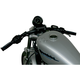Flat Black 1 in Speed Down Center Handlelbar - 0601-1867
