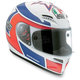 Marco Lucchinelli Replica Grid Helmet