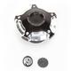 Contrast Cut Misano Billet Aluminum Gas Cap - 0210-2029-BM
