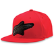 Red Carbon Mold Hat