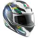 Multi K3 Brazil Flag Helmet