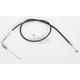 Black Vinyl Throttle Cable - 101-30-30025-06