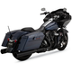 Black Oversized 450 Destroyer Slip-On Mufflers - 46553