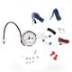 Chrome/White TNT Tachometer 10,000 RPM w/Shift Light - BA035120