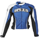 Women Blue Throttle Body Textile Jacket