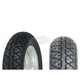 Front VRM-144 100/80-10 Blackwall Scooter Tire - 0600-0035