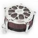 Chrome Venturi Delmar Air Cleaner - 0206-2096-CH