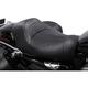 Black Leather BigIST Solo Seat - FA-DGE-0271