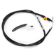 Black Vinyl Coated Clutch Cable for Use w/15 in. to 17 in. Ape Hangers - LA-8320C16B