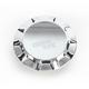 Chrome Non-Vented Straight-Cut Gas Cap - 0703-0390