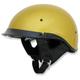 Gold Metal Flake FX-200 Dual Inner Lens Helmet