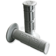 Gray Domino Victor Half Waffle Grips - 1150.82.52.06