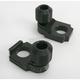 Black Axle Block Sliders - DRAX-101-BK