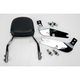 Complete Backrest/Mount Kit with Small Steel Backrest - 34-1113-01