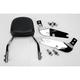 Complete Backrest/Mount Kit with Small Steel Backrest - 34-1113-01