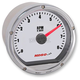 Chrome Casing/White Face T&T Electronic Tachometer - BA035102