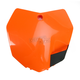 KTM Orange Front Number Plate - 2314230237
