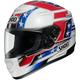 Red/White/Blue Qwest Banner TC-1 Helmet