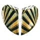 Gold Airmada Spaztyk Sideplates - 0133-0765
