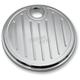 Chrome Ball-Milled Fuel Door - 908315