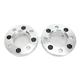 4/110 1in.-12mm Aluminum Wheel Spacers - 0222-0431