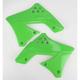 Green Radiator Shrouds - 2141720403