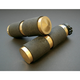 Brass Rubber Inlay Grips - GR100-R5