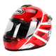 Red/White/Black Vector-2 Hawk Helmet