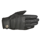 Black Robinson Leather Gloves
