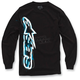 Black Algorithm Long Sleeve Shirt