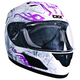 White/Pink RR601 Wilight Helmet