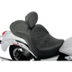 Flame Stitch Low-Profile Double-Bucket Seat with Backrest - 0810-0682