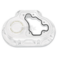 Chrome Clarity Hydraulic Actuated Transmission Cover - 0177-2048-CH