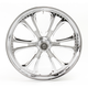 Chrome 21 x 3.5 Czar One-Piece Wheel for Single Disc - 213503586C
