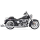 Chrome True Duals w/36 in. Fishtail Mufflers and No Baffles - 1S36E-36