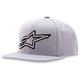 Silver Crisscross Hat - 1013-8505119