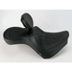 Flame Stitch Low-Profile Double-Bucket Seat with Backrest - 0810-0763