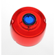 Turn Signal Red Lens with Blue Dot - DHD1RB