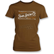 Women's Brown Stitch T-Shirt