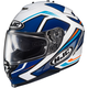 Blue/White/Orange IS-17 MC-2 Spark Helmet