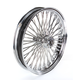 Chrome 21 x 3.5 Fat Daddy 50-Spoke Radially Laced Wheel for Dual Disc - 0203-0385