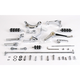 Chrome Forward Control Kit - +2 in. Extended - 1622-0141