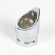 2.075 in. O.D. Short Dished Exhaust Tip for 2.25 in. Pipe w/.083 Wall Thickness - LA-1092-07