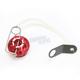 Red Oil Filler Cap Kit - 00-01316-24