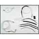 Custom Sterling Chromite II Designer Series Handlebar Installation Kit for Use w/15 in. - 17 in. Ape Hangers (w/ABS) - 387352