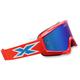 Red/Blue/White X-Fade Phantom Goggles - 067-10250