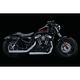 Chrome 2.5 in. Maverick Slip-On Mufflers - 617
